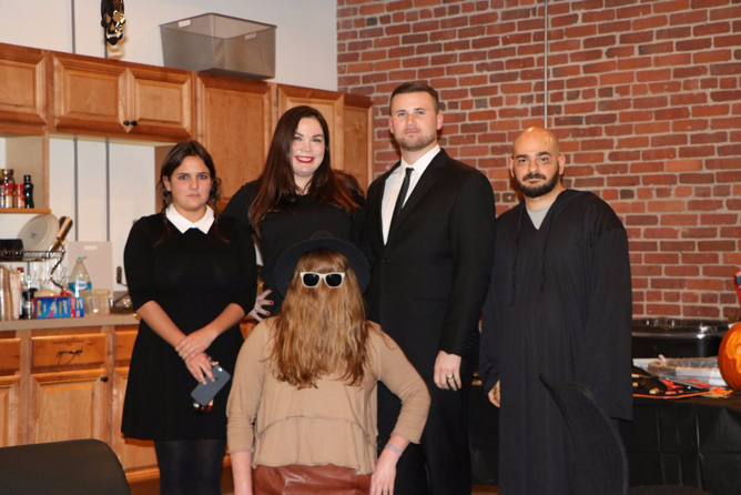Customer Success Team on Halloween