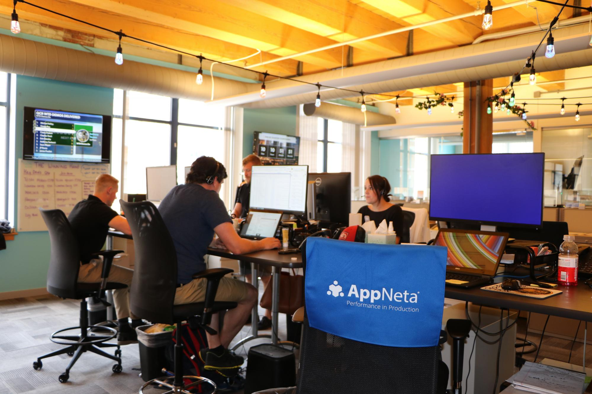 AppNeta team at work in Boston
