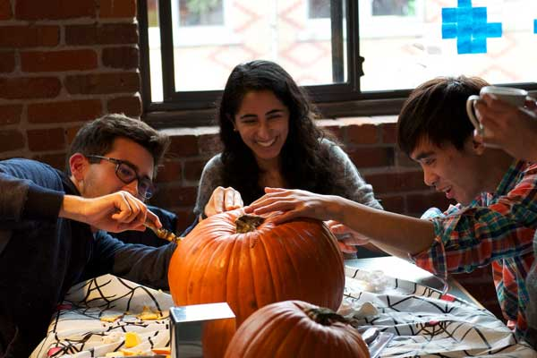AppNeta Vancouver Team Pumpkin Carving