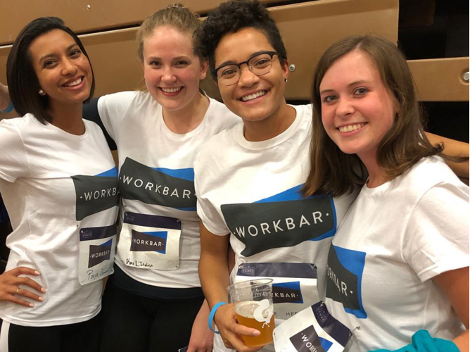 Workbar BUILD games team