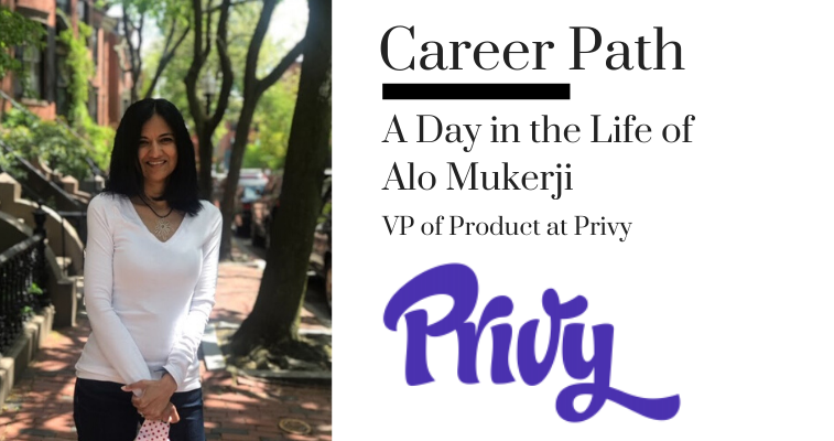 Career Path - Alo Mukerji, VP of Product at Privy banner image