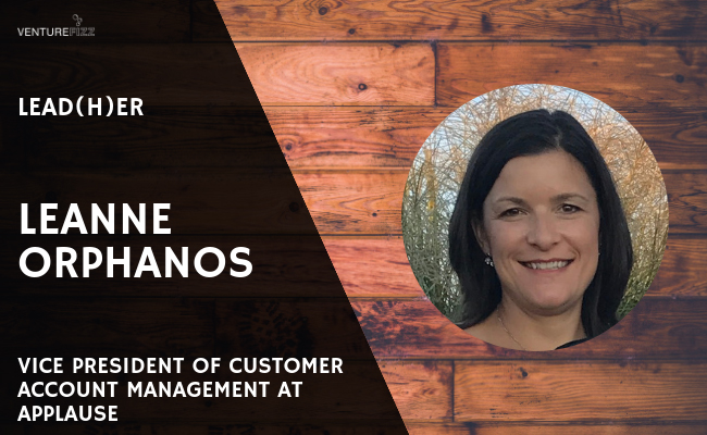 Lead(H)er: Leanne Orphanos, Vice President of Account Management at Applause banner image