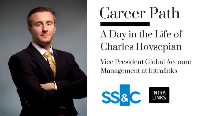 Career Path - Charles Hovsepian, Vice President Global Account Management at Intralinks banner image