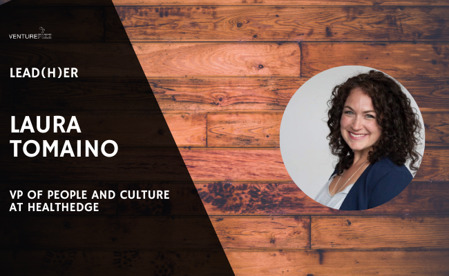 Lead(H)er Profile - Laura Tomaino, VP of People and Culture at HealthEdge banner image