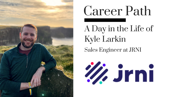 Career Path: Kyle Larkin, Sales Engineer at JRNI banner image