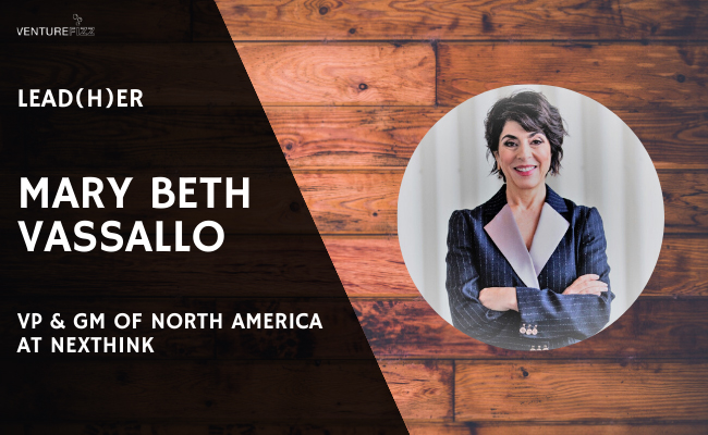 Lead(H)er Profile - Mary Beth Vassallo, VP & GM of North America at Nexthink banner image