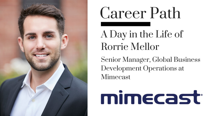 Career Path: Rorrie Mellor, Senior Manager, Global Business Development Operations at Mimecast banner image