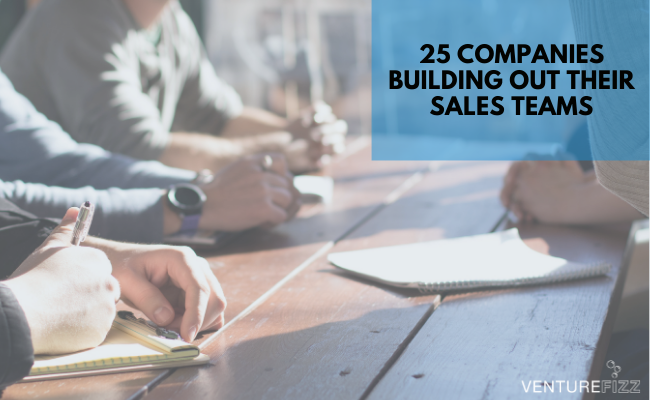 25 Companies Building Out Their Sales Teams banner image