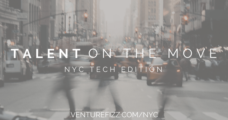 Talent on the Move - NYC Tech - March 30, 2020 banner image