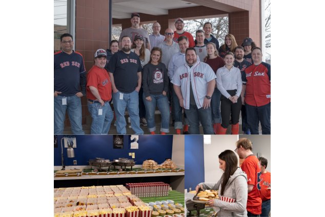 Our WINNING team is excited about the Red Sox home opener!
