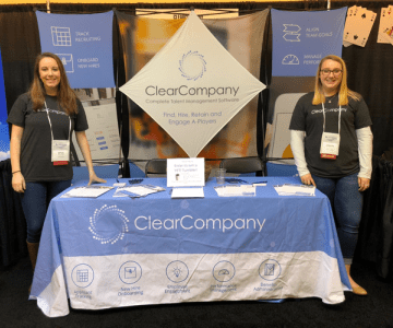 ClearCompany Conference Booth