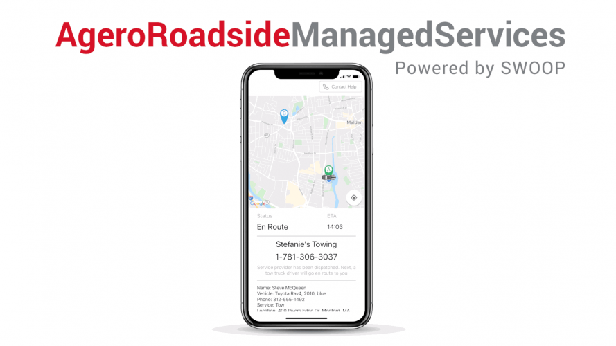 Agero Roadside Managed Services powered by Swoop