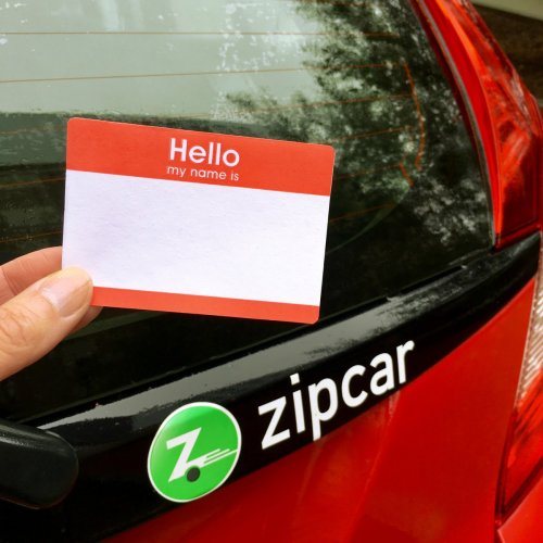 Zipcar Product Photo
