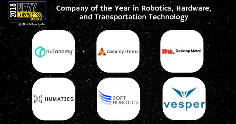 Company of the Year Robotics, Hardware, and Transportation