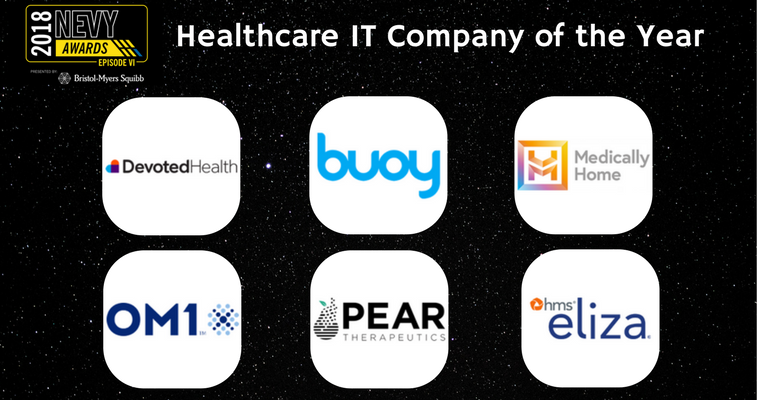 2018 NEVYs Healthcare IT Company of the Year