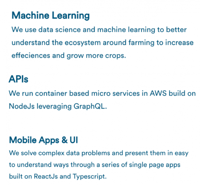 Tech@Indigo Machine Learning APIs Mobile Apps