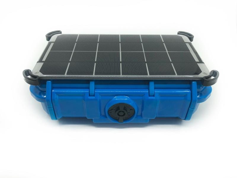 BluCloud with Solar Panel