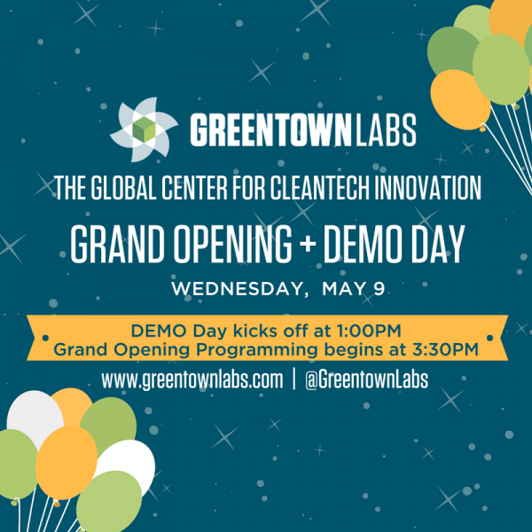Greentown Labs Opening and Demo Day