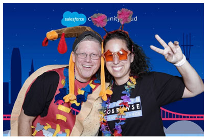 Holly Chessman at Salesforce Event